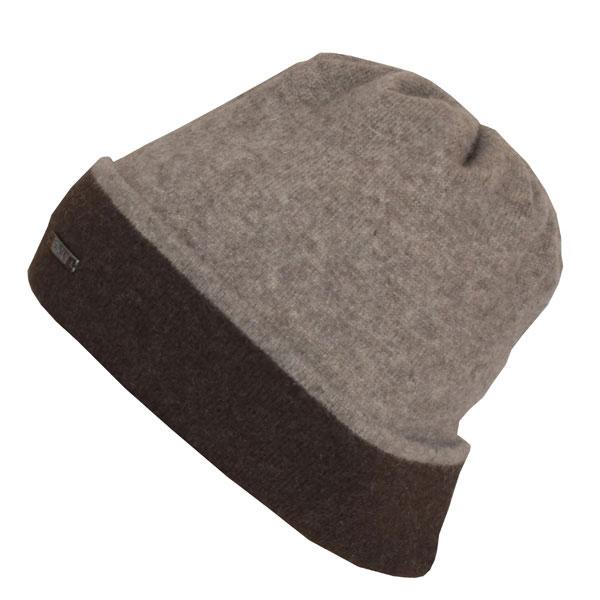 Bonnet réversible en laine