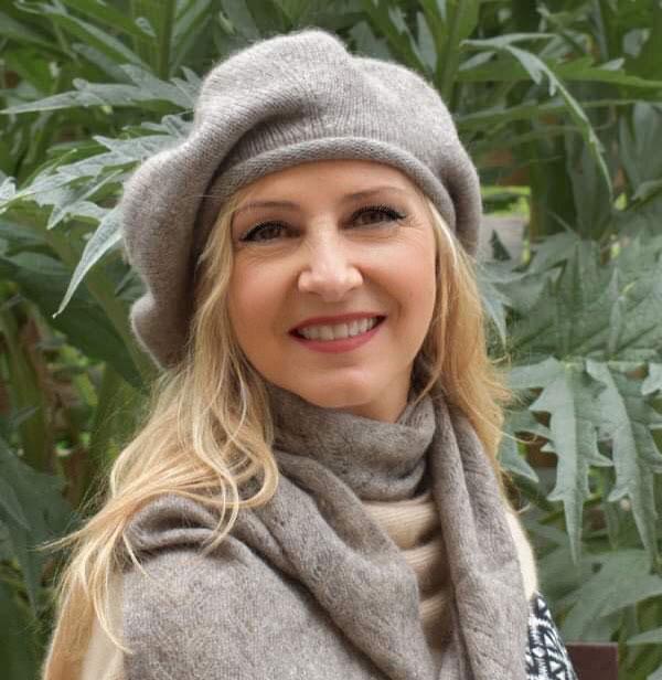 bonnet beret en laine