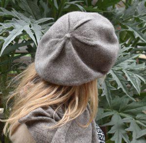 bonnet beret femme laine