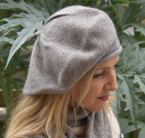 bonnet beret laine yack