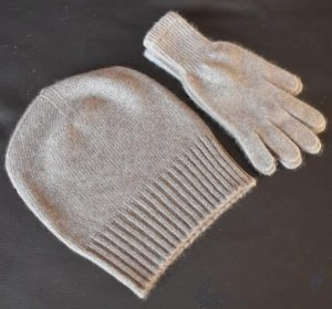 bonnet gants en cachemire