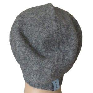 bonnet homme gris laine