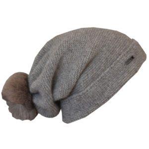 bonnet tombant en laine 1