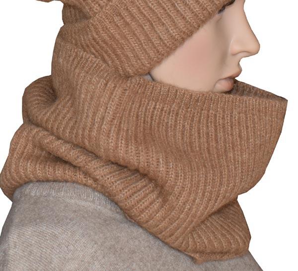 cache cou homme femme en laine