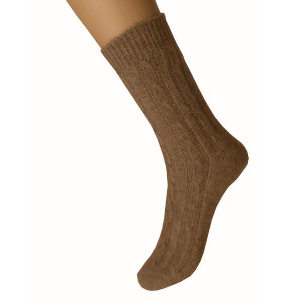 chaussettes femme cachemire