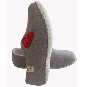 chaussons femme en laine