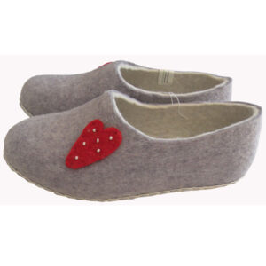 chaussons femme laine