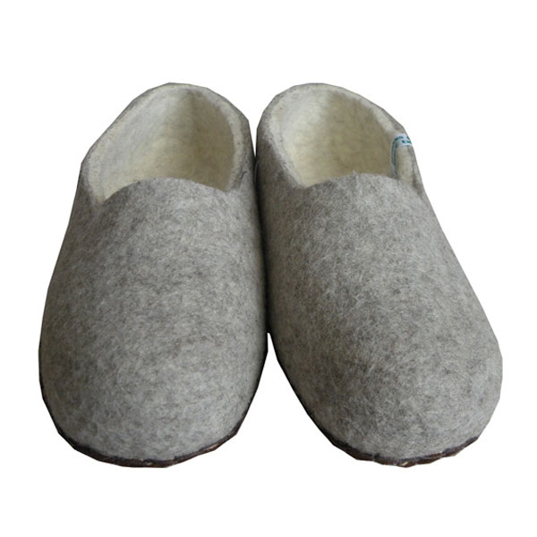 chaussons homme laine
