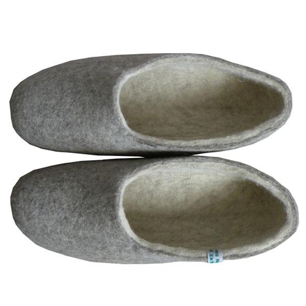chaussons homme naturels