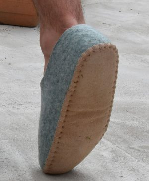chaussons naturels homme