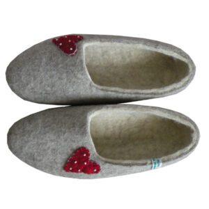 chaussons feutre naturels 0 2