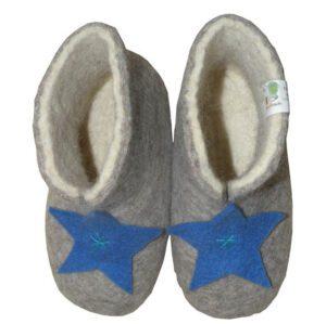 chaussons garcon biologique 1