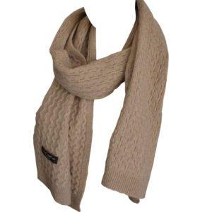 écharpe en laine de chameau