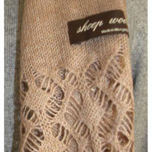echarpe naturelle laine