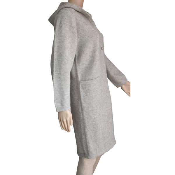 manteau a capuche laine yak