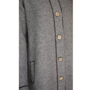 manteau col montant laine 1