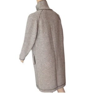 manteau col montant laine 2