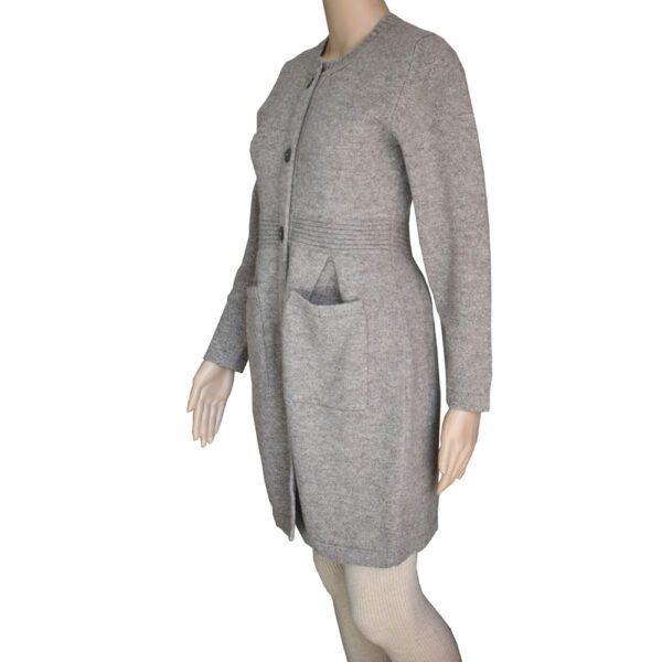 Manteau en laine de Yack