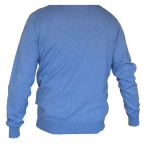 pull bleu homme en laine
