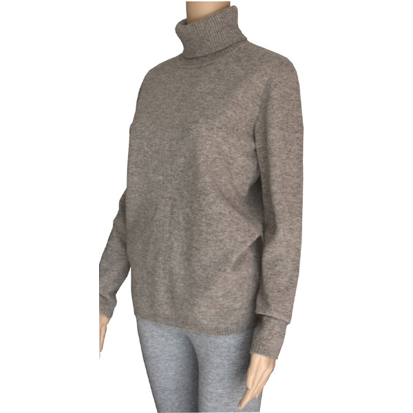 pull femme col roule yak 1
