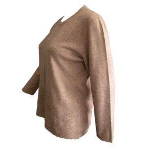 pull fin femme laine