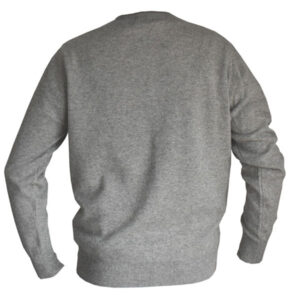 pull homme gris laine yack