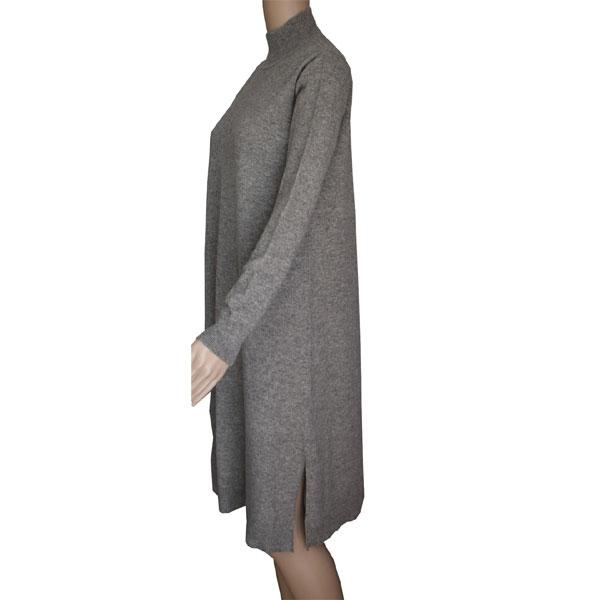 robe gris en laine