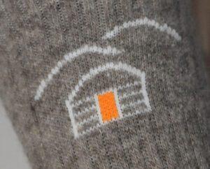 chaussettes hautes pure lai