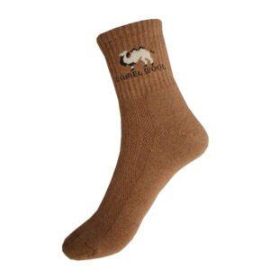 chaussettes en laine de chameau
