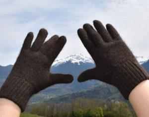 gants en laine de yack