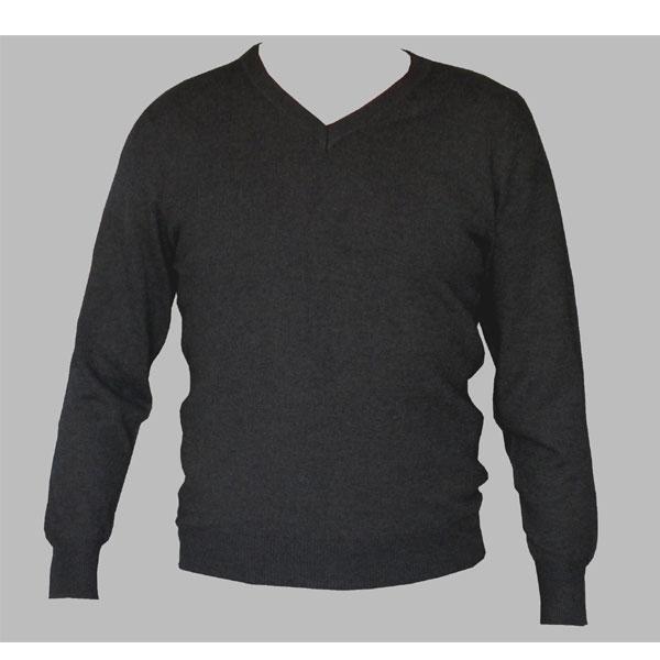 pull homme en laine noir 1 1