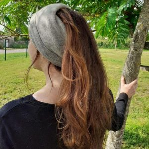 bandeau bonnet en laine de