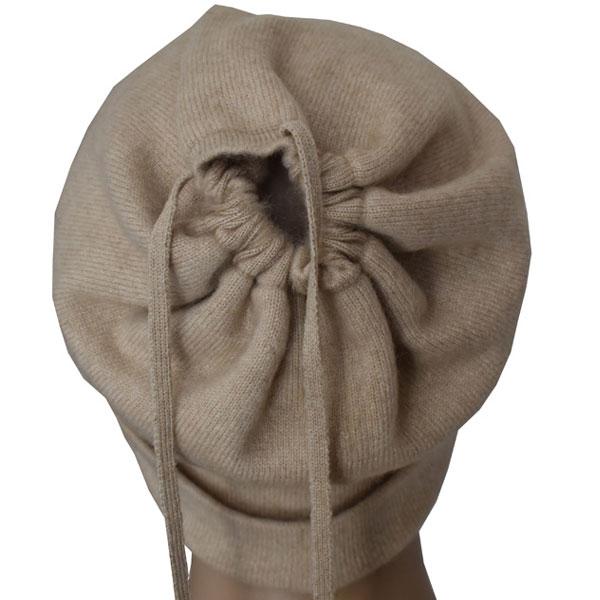 bonnet cache col cachemire