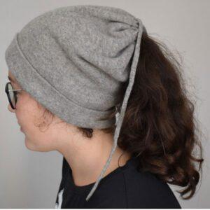 bonnet cache cou laine yak
