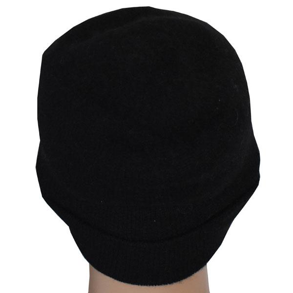 bonnet cachemire noir 1