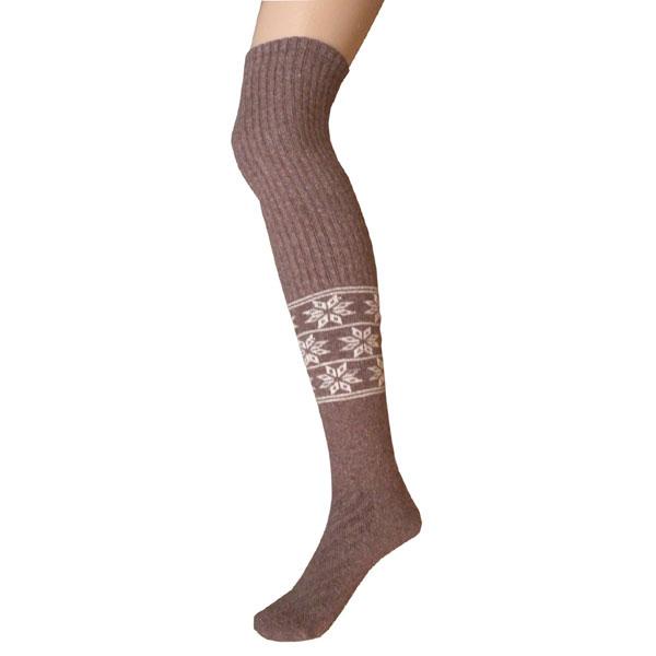 chaussette longue en laine 1