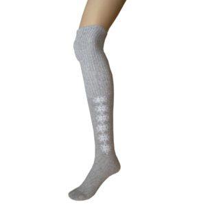 chaussettes femme longue 1