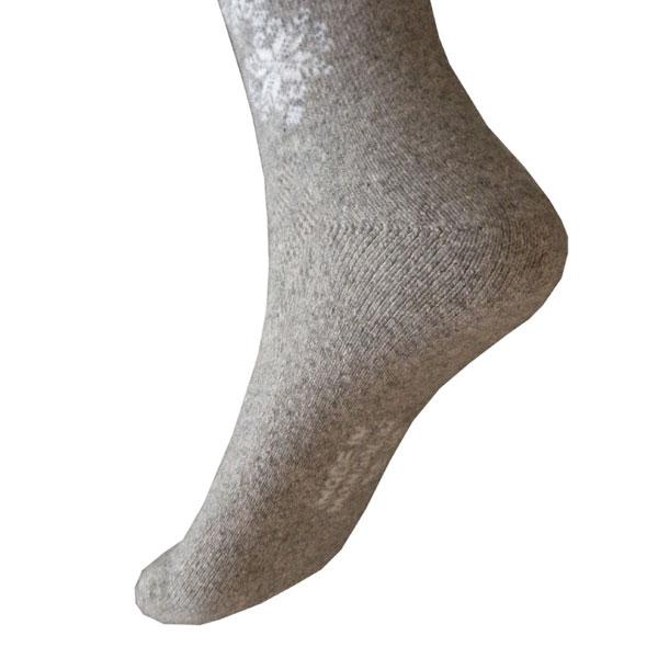 chaussettes longue gris 2