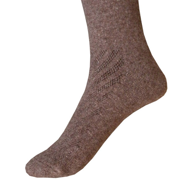 chaussettes longue marron 3