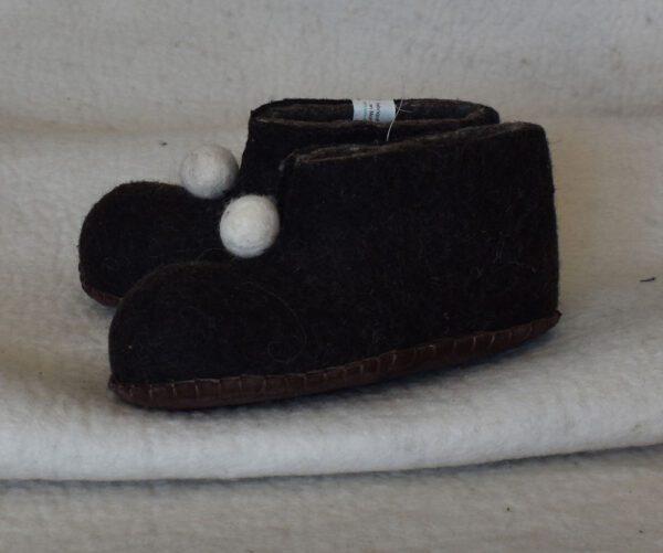chaussons enfant noir 1 1