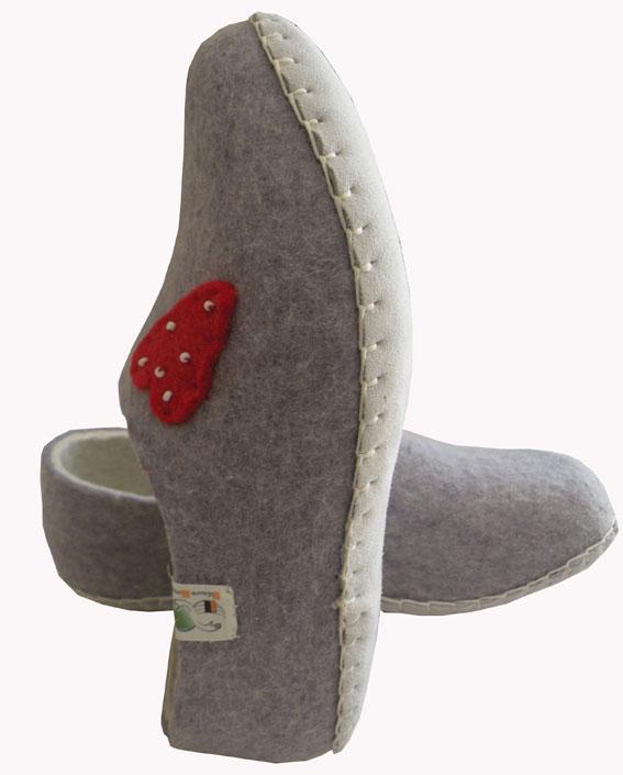chaussons femme en laine 2