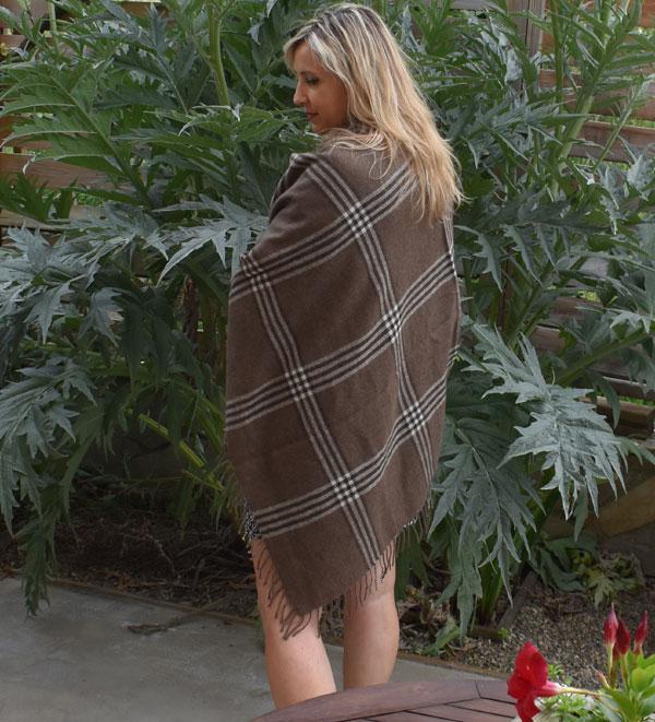 plaid douce chaude laine