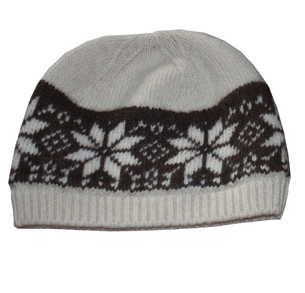 bonnet sport en laine de ya