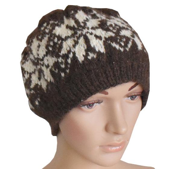 bonnet en laine tricote