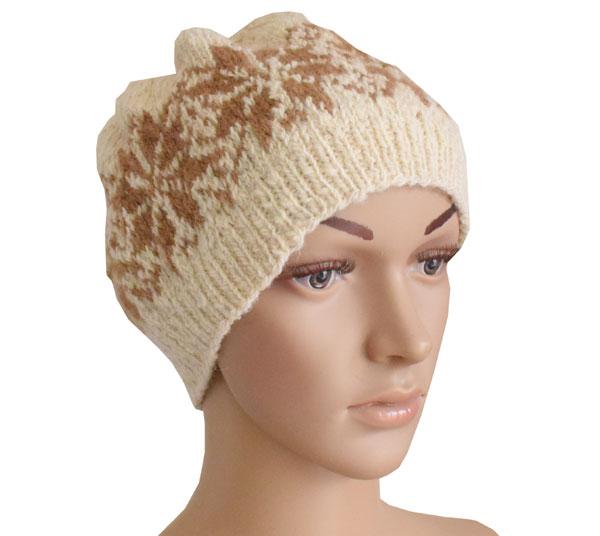 bonnet femme tricote