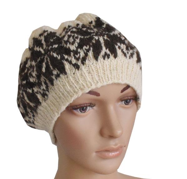 bonnet tricote laine