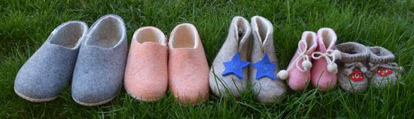 chausson en laine