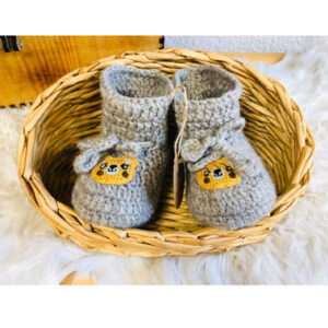 chaussons bebe laine de yac
