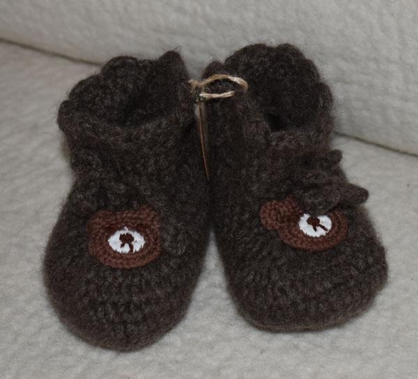 chaussons bebe laine de yak