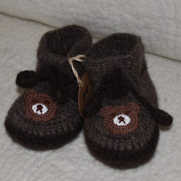 chaussons laine de yack